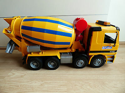 Bruder Mercedes Actros Toy Lorry Truck Beton Cement Mixer 1:16 Body Shell 8 Kids