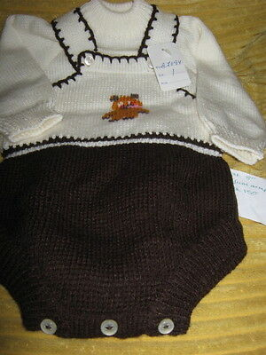VINTAGE BABY SUIT CUTE TEDDY MOFIT NEW Prince George style