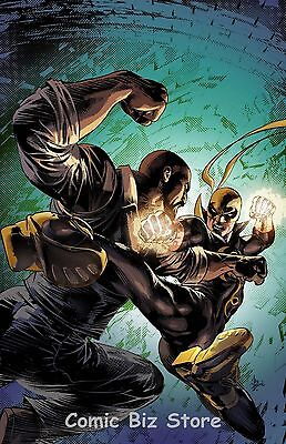 Power Man And Iron Fist #10 (2016) 1St Print Divided We Stand Variant Cover Now