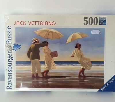 Ravensburger The Picnic Party Jack Vettriano 500pc Jigsaw Puzzle - New/Sealed