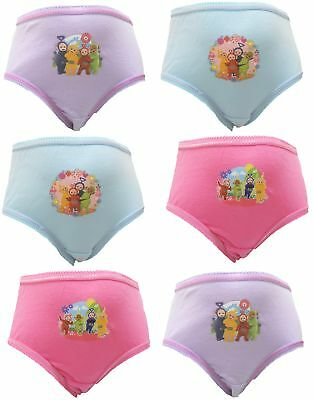Teletubbies Girl's 6 pack Knickers / Briefs