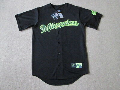 Milwaukee Brewers MLB Baseball Limited Edition Jersey - Braun #8 - Mens Small