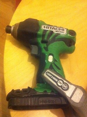 HITACHI WH14DMR CORDLESS IMPACT  BODY Only Perfect Condition