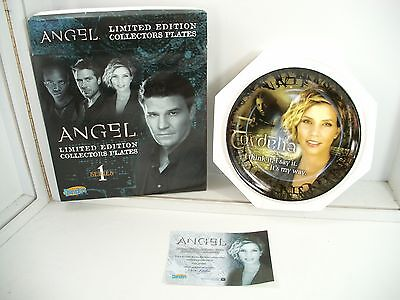 Angel Buffy the Vampire Slayer CORDELIA Collector Plate  limited ed.  466/2000