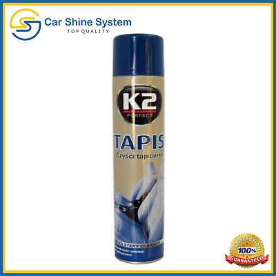 K2 TAPIS Car Powerful Upholstery Interior Seat Textile Cleaner Active Foam Stain
