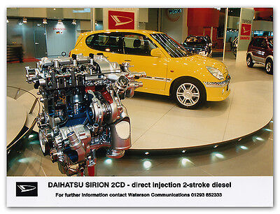 Daihatsu Sirion 2CD - direct injection 2-stroke diesel Press Release Photograph