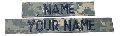ACU Custom Name Tape, US ARMY Tape - Military