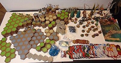 HeroScape Huge Lot - Over 300 Pieces -57 Figures + MUCH more