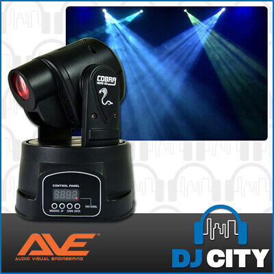 Cobra Head 50 LED Mini Moving Head Club DJ Stage Lights Party Spot DMX 13CH L...