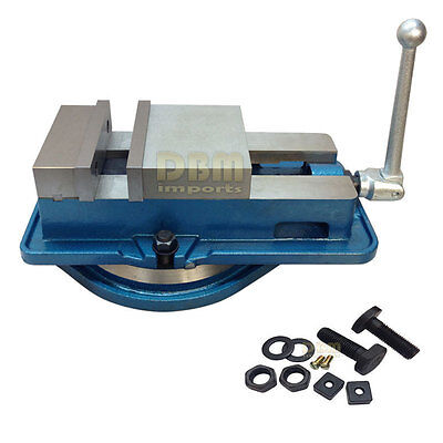 6'' Accu Lock Vise Precision Milling Drilling Machine Bench Clamp W/ Swivel Base