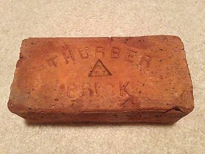 Thurber Brick; Antique