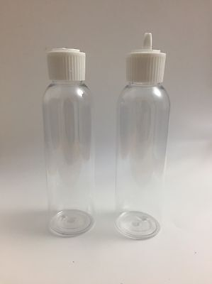 Empty Plastic 130ml Bottle Excellent For Perfume Oils Or Any Liquid Pack Of Two