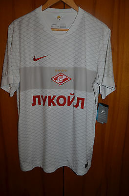 *bnwt* Spartak Moscow Russia 2014/2015 Away Football Shirt Jersey Maglia Nike