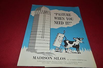 Madison Silo Buyers Guide Dealers Brochure YABE10