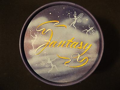 1940's/50's Fairies Fantasy Dusting Powder New Old Stock Container By Christy.