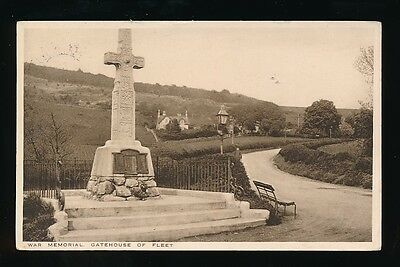Scotland Kirkcudbrightshire GATEHOUSE OF FLEET War Memorial Used 1934 PPC