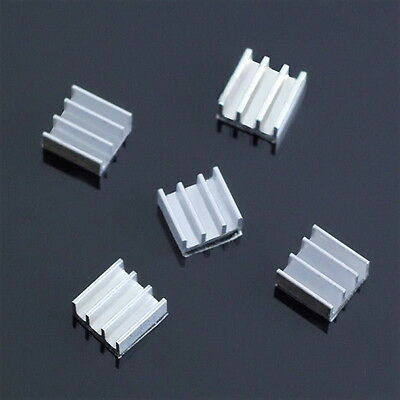 5pcs 11x11x5mm Aluminum Heat Sink For Memory Chip LO