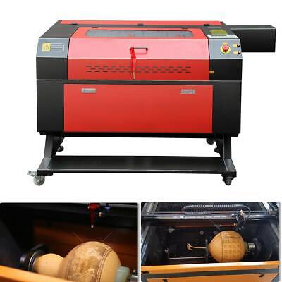 100W CO2 Laser Cutter Engraver Cutting & Engraving Machine 700x500mm USB PORT