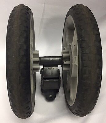 Graco Classic Connect Stroller Front Double Replacement Wheel Black/Gray