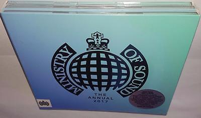 Va Ministry Of Sound The Annual 2017 Brand New Sealed 3Cd Set Chainsmokers