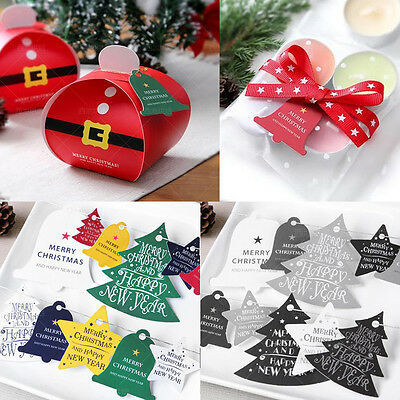 New 1 Sheet Christmas Beauty Paper Greeting Card Festival Tag Envelope Decor