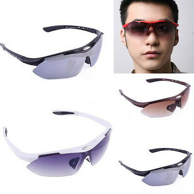 Outdoor Sporting Cycling Bicycle Riding Sun Glasses Eyewear Goggle UV400 Lens CL