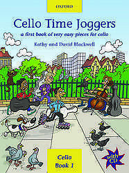 Cello Time Joggers Book/CD - Blackwell - 9780193220874 - OUP AMEB GR Prelim