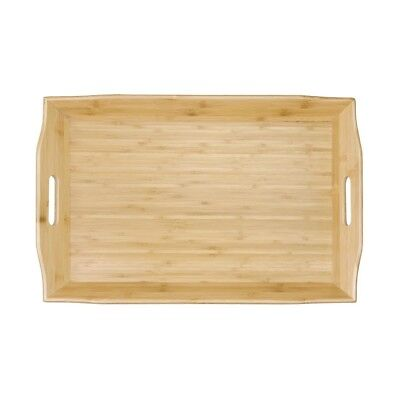 Olympia Bamboo Butlers Tray Rectangular Serving Platter Kitchen Tableware