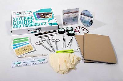 Suture Kit for Medical Students | Practice Suture Kit with Suturing Course incl.