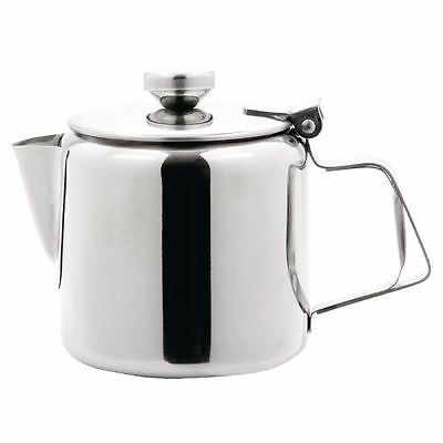 Olympia Concorde Tea Pot 455mm Coffee Cookware Infuser Kitchen Stainless Steel