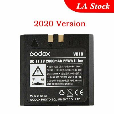 2016 Improved Godox VB18 Li-ion Battery for V850 V860 Flash Speedlite Speedflash