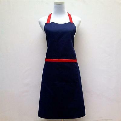 Aprons For Chefs Kitchen Cooking Work Women's Pocket