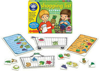 Orchard Toys Shopping List Booster - Fruit & Vegetables