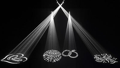 NEW Chauvet Gobo Zoom USB Projection Custom Shapes DJ Wedding Event Club Event