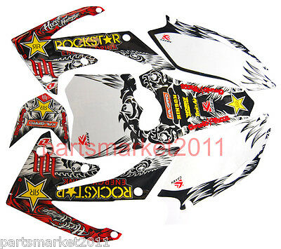 3M Decals Graphics For Honda CRF250 CRF250R 2010 2011 2012 2013 Emblems Stickers