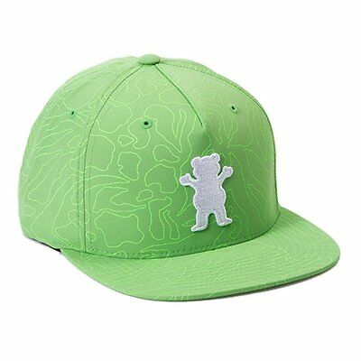 Grizzly Topography OG Bear Cap - Green