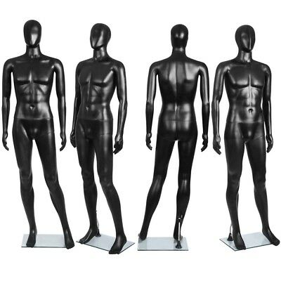 Male Full Body Mannequin Clothes Shop Display Dressmaking Window Showcase 186cm