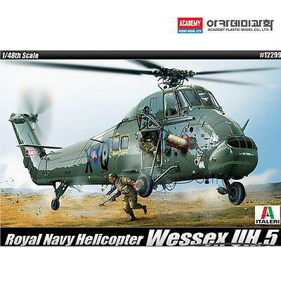 1/48 WESSEX UH.5 Royal Navy Helicopter 12299 Academy Model Kit