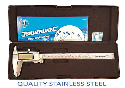 "8""200mm Digital-LCD-Vernier-Caliper-Micrometer-Hardened-Stainless-Steel"