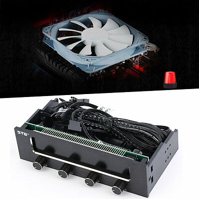 5.25 LCD Panel Fan Speed Temperature Controller Governor PC Hardware JL