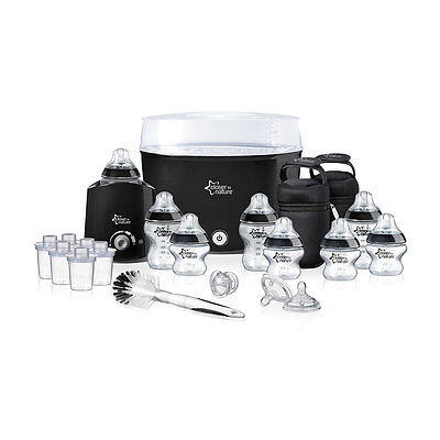 Tommee Tippee Closer to Nature Essentials Kit - Black - NEW