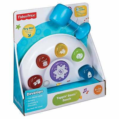 Fisher-Price Tappin' Beats Bench - NEW