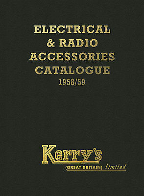 The Kerry's Electrical & Radio Accessories Catalogue 1958/59 inc stylus info