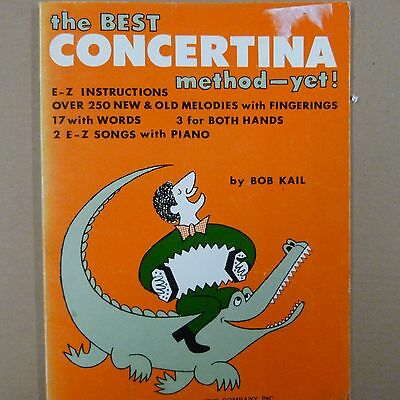 THE BEST CONCERTINA method - yet !, Bob Kail