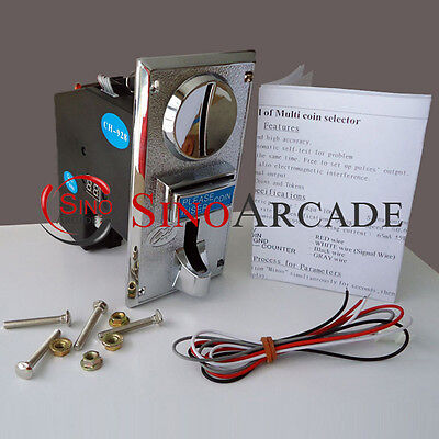 JY-928 Multi coin acceptor support any 1-8 kinds of coins arcade vending machine