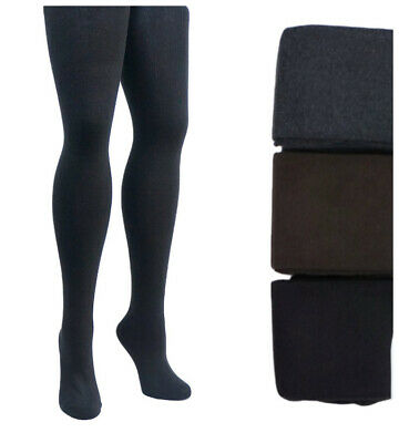 PLUS SIZE Womens Warm 90% Cashmere Wool Thick Opaque Tights | Winter | 1x 2x 3x