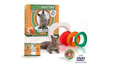 Litter Kwitter Cat Toilet Training System, How to Train A Cat To Use The Toilet