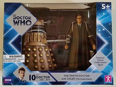 Doctor Who 10th Doctor with Dalek action figures MIP GREAT DEAL!!!