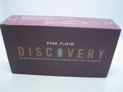 The Pink Floyd Discovery Box Set CD Album Collection with Booklets NEW SEALED