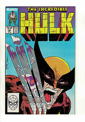 The Incredible Hulk Vol. 2 - #340 | Classic McFarlane / Wolverine Cover | Marvel